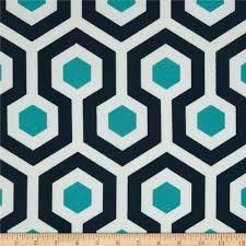 korla cubes turquoise fabric geometric fabric upholstery fabric