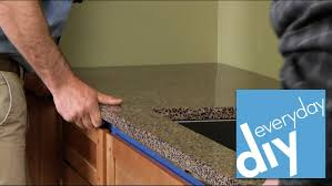 How To Finish The Top Of Kitchen Cabinets How To Install A Kitchen Countertop Buildipedia Diy Youtube