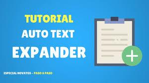 si e auto tex tutorial auto text expander ahorra tiempo respondiendo