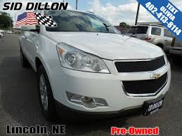 pre owned 2009 chevrolet traverse lt w 2lt suv in lincoln