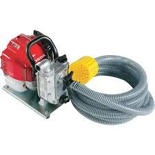 high suction lift water pump honda self priming water pump u2014 2220 gph 1in ports 25cc honda