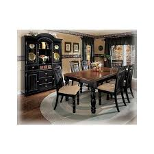 Best Furniture Images On Pinterest Home Bedroom Furniture - Ashley furniture dining table black
