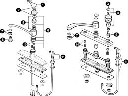 Leaky Delta Kitchen Faucet by 100 Ideas Minimalist Delta Delta Bathroom Faucets Repair Diagram