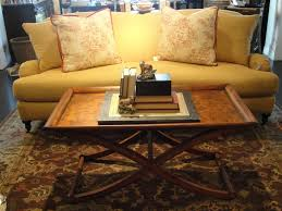 Coffee Table Decorations Furniture Splendid Wooden Coffee Table Design Combine Yellow