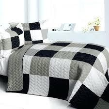 Black And White Comforter Full Black White And Gray Comforter Sets Black Gray White Quilt Red