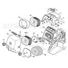 stihl chainsaw parts diagram stihl parts diagram wiring and