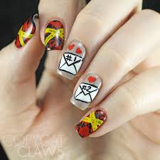 nail art texas flag nails pancho and leftey pancho and leftey