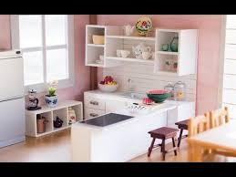 Big Barbie Dollhouse Tour Youtube by Diy Dollhouse Miniature Kitchen For Nendoroid Dolls U0026 Action