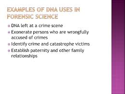 dna u0026 forensic evidence lab ppt download