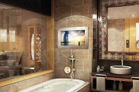 Mirror Tv Bathroom Tech2o Luxury Outdoor Bathroom Mirror Tvs For Homes Of