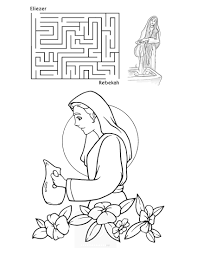 abraham and isaac coloring page lesson a bride for isaac children u0027s bible lessons