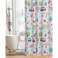 Threshold Ombre Curtains by Bathroom Threshold Shower Curtain Target Owl Shower Curtain