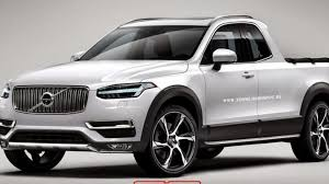 truck volvo 2014 volvo xc90 rendered as a pickup truck