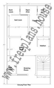 Ground Floor Plan 20x40 Feet Ground Floor Plan Plans Pinterest House Smallest