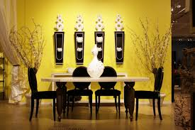 Dining Room Wall Paint Ideas by Yellow Wall Paint To Create Cheerful And Fraesh Nuance In The