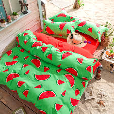 Duvet Covers Kids Aliexpress Com Buy New Nordic Watermelon Cloud Cute 1pc Duvet