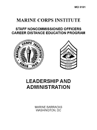 leadership and administration non commissioned officer united