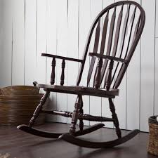Rocking Chair Belham Living Indoor Wood Rocking Chair Espresso Hayneedle