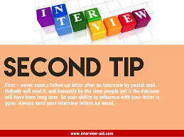 follow up letters proper follow up letter after interview sample