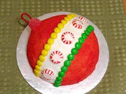 ornament cake designs happy holidays