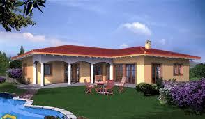 Mediterrane Huser Häuser
