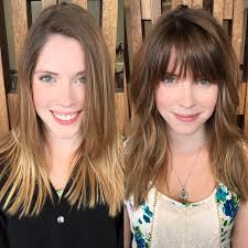 before and after hair styles of faces 972 best grown up hair images on pinterest bobs short hairstyle