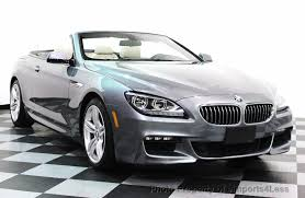 pre owned 6 series bmw 2014 used bmw 6 series certified 640i xdrive m sport cabrio