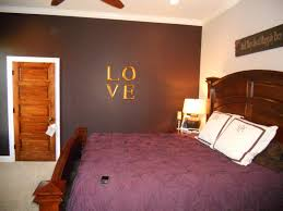 black white bedroom wall combined by brown wooden bed with wooden