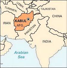 kabul map kabul is the largest place and the capital of afghanistan