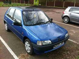 blue peugeot for sale peugeot 1995 106 aztec blue car for sale