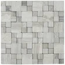 Grey Tiles 3d Light Grey Blocks Stone Tile Pebble Tile Shop
