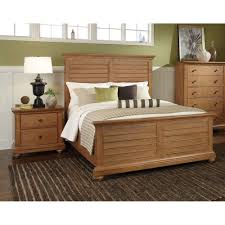 American Casual Living by Decorating American Woodcrafters White Beds With White Nightstand