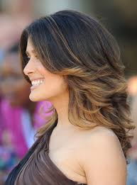 the latest hair colour techniques check out salma hayek s latest hair makeover hair color