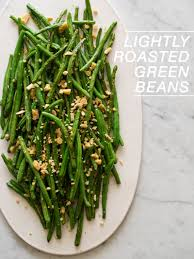 side dishes recipes for thanksgiving lightly roasted green beans side dish recipe spoon fork bacon