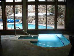 awesome modern swimming pool decoration ideas with gray granite