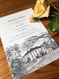wedding venue inspired invitations u2013 james and sarah at castle