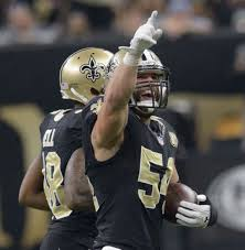 nate stupar makes key interception for saints while rotating with