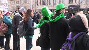 toronto ontario canada march 2015 st patrick u0027s day irish parade