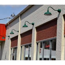 gooseneck light fixtures for signs light gooseneck exterior light fixtures interesting rlm green wall