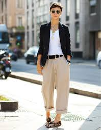 masculine women fashion images