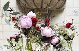 Fake Peonies Peony Fl Arrangement 6 Branches Artificial Fake Peony Flower