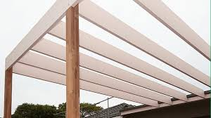 How To Build A Pergola Roof by How To Build A Pergola Bunnings Warehouse