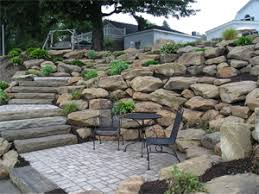 4 retaining wall block options for your landscape