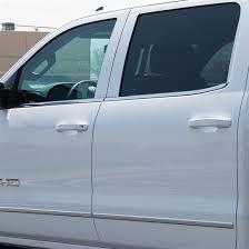 silverado sierra billet door handles summit white paint code gaz