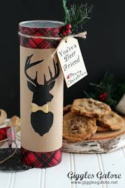 christmas cookie gifts christmas gift for friends you re a deer friend cookies
