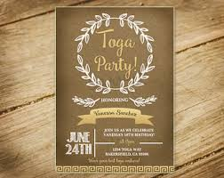 toga party etsy