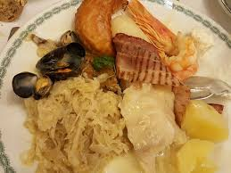 la cuisine de la mer choucroute de la mer picture of brasserie lipp geneva tripadvisor