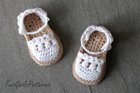easy baby sandals crochet pattern free squareone for