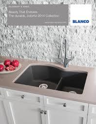 Sinks Kitchen Blanco by Blanco 2014 Silgranit Sink Brochure By Blanco Issuu