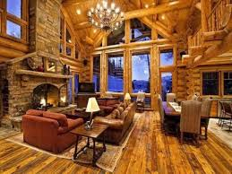log home interior photos beautiful log cabins thechive
